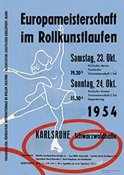 Monogramm H.M. - Rollkunstlaufen Karlsruhe