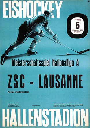 Anonym - Meisterschaftsspiel ZSC - Lausanne