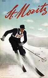 Herdeg Walter - St. Moritz
