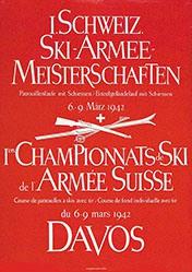 Anonym - 1. Schweiz.Ski-Armee-Meisterschaften