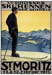 Küpfer Walter - VII. Ski-Rennen St. Moritz