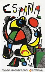 Miró Joan  - Copa del Mondo de Futbol