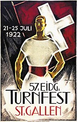 Stauffer Fred - Eidg. Turnfest St. Gallen