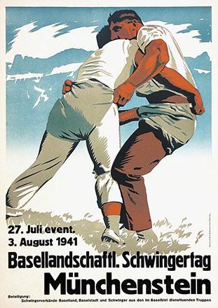 Weibel Fritz - Basellandschaftl. Schwingertag