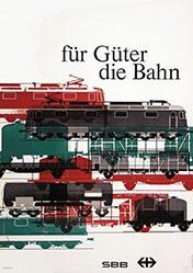 Wirth Kurt - SBB - für Güter die Bahn