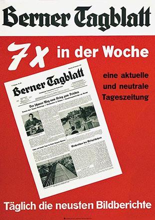 Anonym - Berner Tagblatt