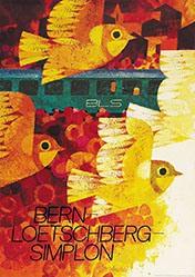 Auchli Herbert - Bern Loetschberg Simplon