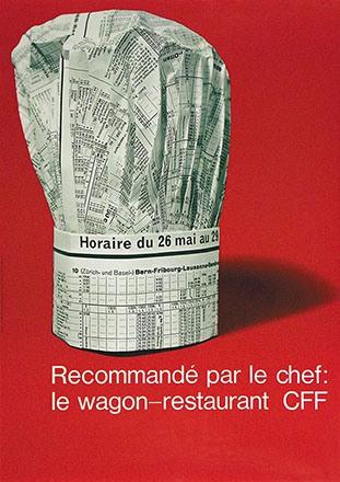 Auchli Herbert - CFF - Wagon-Restaurant