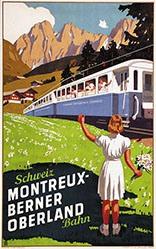Burger Wilhelm Friedrich - Montreux-Berner Oberland