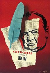 Brun Donald - Churchill skriver i DN