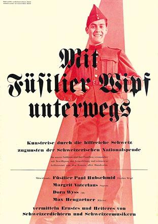 Anonym - Füsilier Wipf