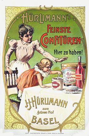 Anonym - Hürlimann's feinste Confitüren