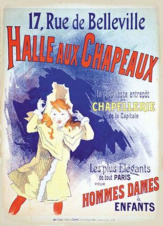 Chéret Jules - Halle aux Chapeaux