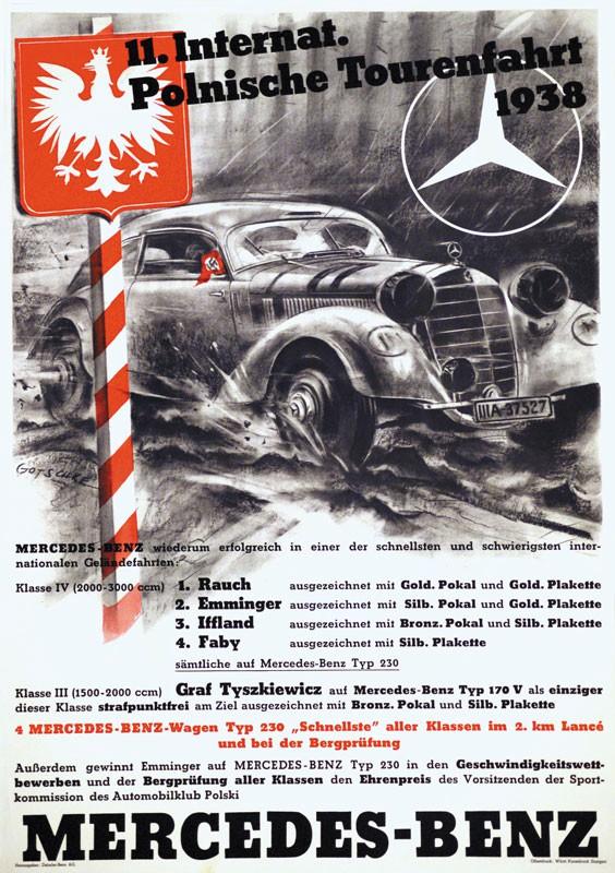 Bisherige auktionen for Vintage mercedes benz posters