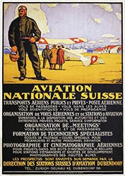 Schlatter Ernst Emil - Aviation Nationale Suisse