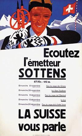 Baumberger Otto - Emetteur Sottens