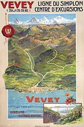 Reckziegel Anton - Vevey - Ligne du Simplon