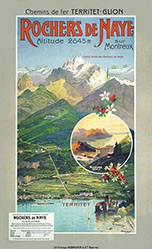 Reckziegel Anton - Rochers de Naye sur Montreux
