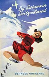 Mühlemann Werner - By Swissair to Switzerland