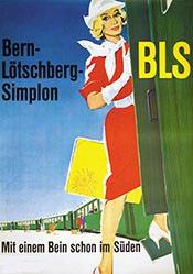 Portmann Hannes - BLS Bern-Lötschberg-Simplon