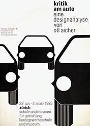 Aicher Otl - Kritik am Auto