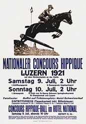 Anonym - Concours Hippique Luzern