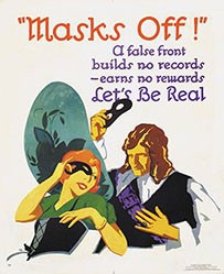 Monogramm F.B. - Masks Off!