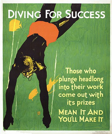 Elmes Willard Frederic - Diving For Success