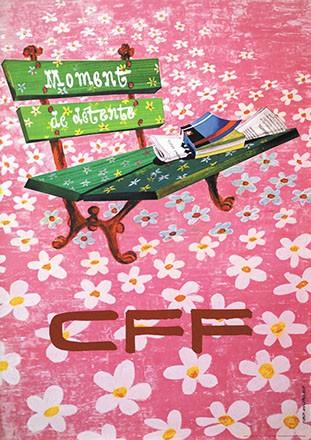 Afflerbach Ferdi - CFF - Moment de détente