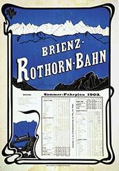 Anonym - Brienz-Rothorn-Bahn