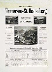 Anonym - Thunersee - St. Beatenberg