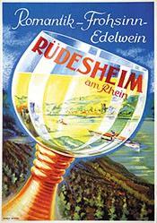 Bekker Ernest - Rüdesheim am Rhein
