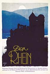 Hohlwein Ludwig - Der Rhein
