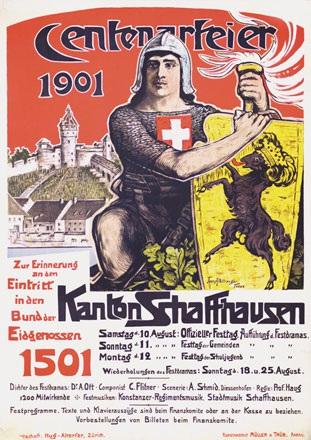 Affeltranger Jean - Centenarfeier
