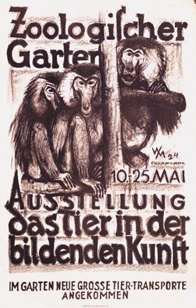 Monogramm W.M. - Zoologischer Garten