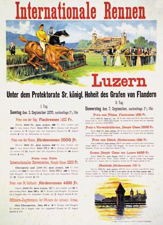 Baumgartner V. - Internationale Rennen Luzern