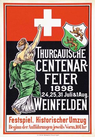 Anonym - Thurgauische Centenar-Feier