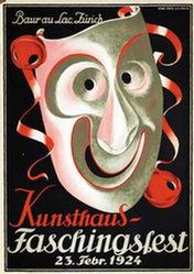 Baumberger Otto - Kunsthaus Faschingsfest