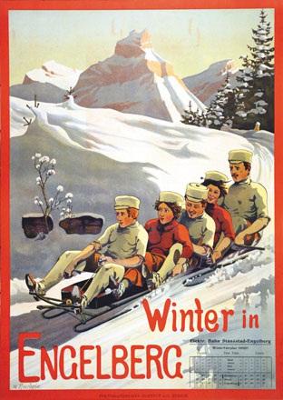 Amrhein Wilhelm - Winter in Engelberg