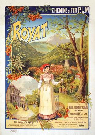 Fraipont Gustave - Royat