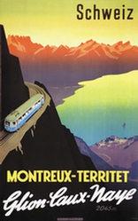 Ernst Otto - Montreux-Territet