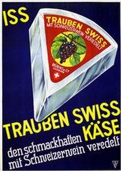 Anonym - Trauben Swiss Käse