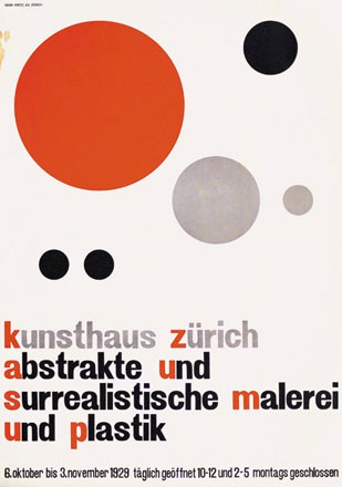 Arp Hans / Cyliax Walter - Abstrakte und surrealistische