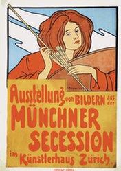 Boscovits Fritz - Ausstellung von Bildern Münchner Secession