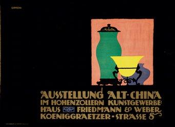 Gipkens Julius E.F. - Ausstellung Alt-China