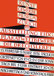 Morach Walter - Ausstellung Plakatwettbewerb