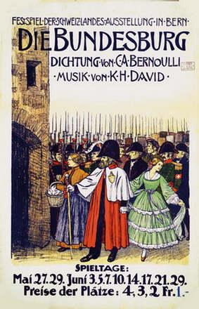 Anonym - Die Bundesburg