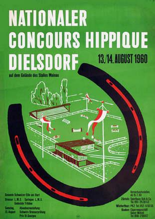 Anonym - Concours Hippique Diesldorf