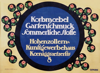Gipkens Julius E.F. - Korbmöbel - Gartenschmuck