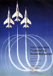 Hauri Edi - lnterationales Flugmeeting Basel-Mühlhausen